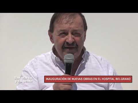 INAUGURACIÓN GUARDIA HOSPITAL MANUEL BELGRANO