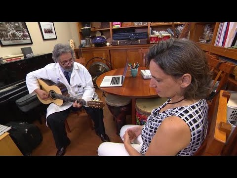 Music therapy used to help cancer patients