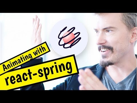 Trying react-spring (React animation library) for the first time thumbnail