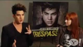 Pt 1 Lyndsey Parker ADAM LAMBERT Interview About Trespassing etc 1-24-12