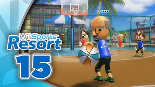 Wii Sports Resort: Part 15 | Basketball - Pickup Game (4-Player)