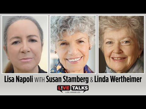 Lisa Napoli with Susan Stamberg & Linda Wertheimer at Live Talks Los Angeles