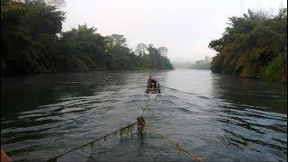 Плывём на плоту по реке Квай