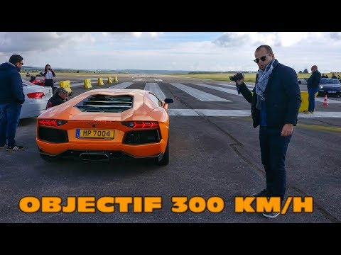 OBJECTIF 300km/h ! Runs de Supercars sur piste de 3km!