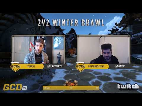 1st place - Champions of the 2v2 GCDTV 2019 Winter Brawl - The Pump!