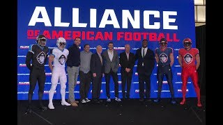 AAF League (Alliance of American Football) Explained by Tony Endz