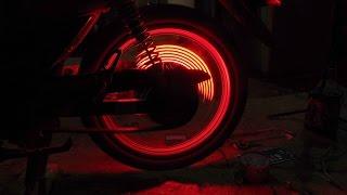 Cara Memasang Lampu di Roda / Velg dan Ikut Berputar.