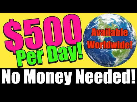 How to Make $500 A DAY Online FOR FREE! (Step by Step For Beginners)