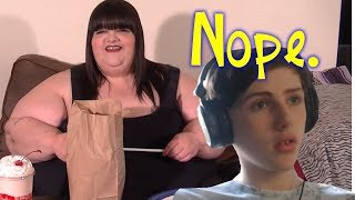 """Reacting To """"What A FAT 500 Pound Girl Eats In A Day"""" + Muckbang Rants"""