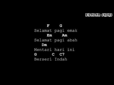 Chord Harta Berharga - BCL (OST Keluarga Cemara)