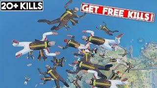 TRICK TO GET 8-15 FREE KILLS! | 20+ KILLS | PUBG Mobile