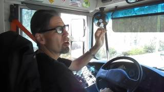 33. Skills – How to Parallel Park / Driver Side – Class B CDL School Bus