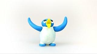 ペンギンのキャラクターをクレイアニメで作ってみました。 (この動画は...