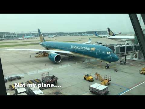 Vietnam Airlines Business class review.  Seoul to Hanoi.