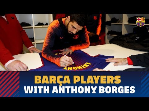 Barça players send signed shirt to Anthony Borges, hero of Stoneman Douglas shooting