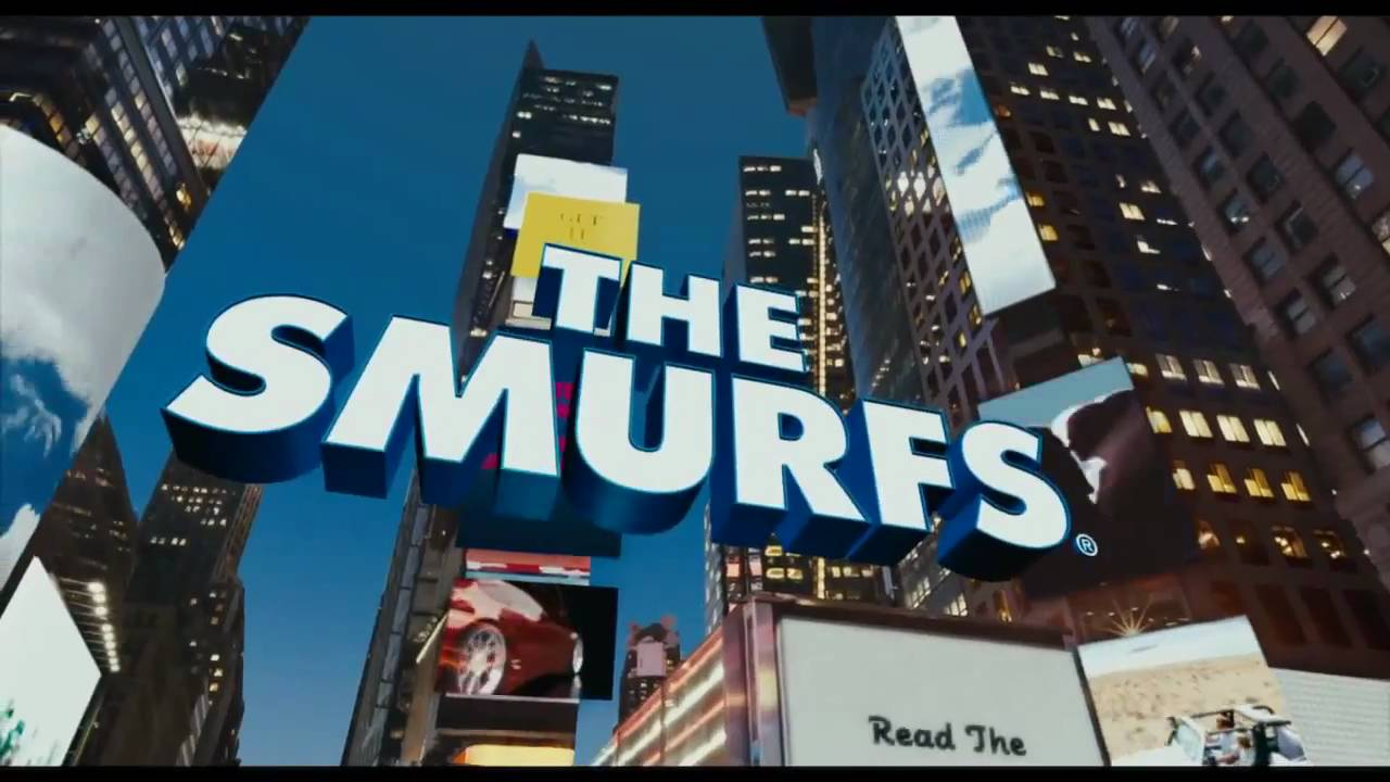 The Smurfs Official Movie Trailer (HD) 2011 (AD) - YouTube