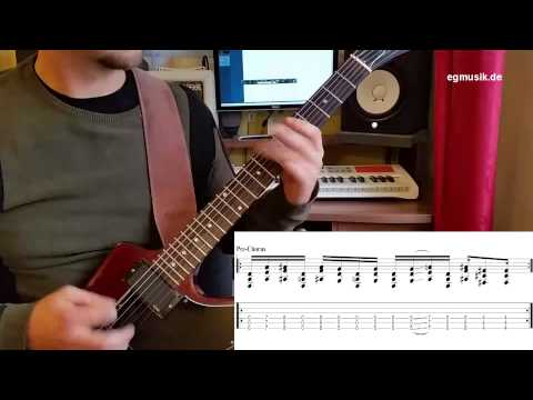Deftones- My Own Summer (Shove it) guitar lesson with tabs, guitar cover