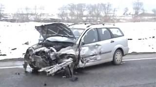 Accident Apahida (Cluj) 27 02 2011
