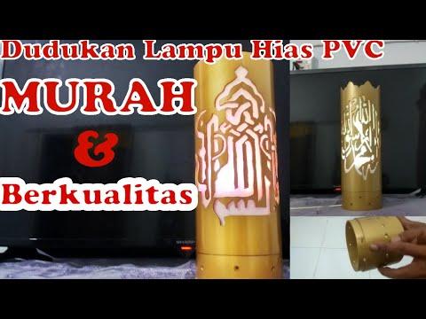 Cara Membuat Lampu Hias dari Paralon bekas || DIY Decorative Lamps from PVC