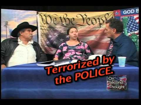 Santa Maria POLICE & S. B. Sheriffs -  Terrorize 8 year old, & GrandParents and