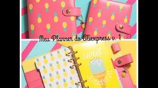 Unboxing, Meu Planner Aliexpress 1 - Andréa Schmidt Makeup