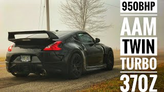 Nissan 370z Twin Turbo | 950bhp | Gtr Killer? Stillen-Aam Tuned 700whp