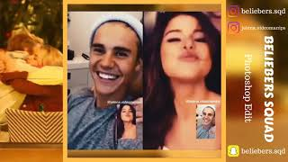 Justin Bieber and Selena Gomez madly in love on FaceTime 2018   Maynip Video Edit