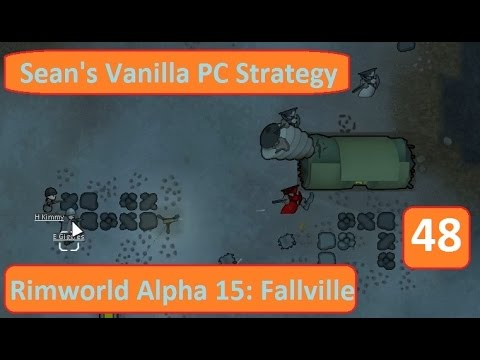 Rimworld Alpha 15 - Fallville EP 48: Toxic Fallout - Cassandra Extreme Permadeath