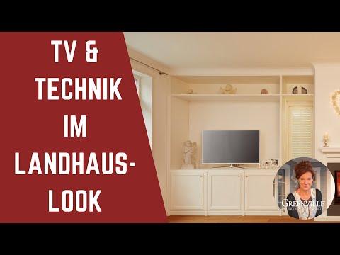 Trotz Tv Und Technik Gemütlich Einrichten Im Landhaus Holzhaus