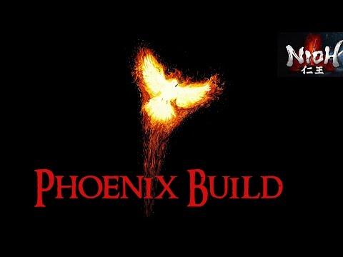 "Nioh ► Critical Health, Red Tearstone Build: ""The Phoenix Fanatic"""