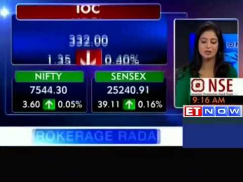 Sensex in Green, Nifty holds 7500 levels