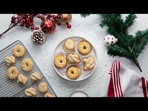 Danish Butter Cookies •Tasty