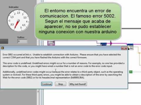 Arduino y LabView Error 5002.mov