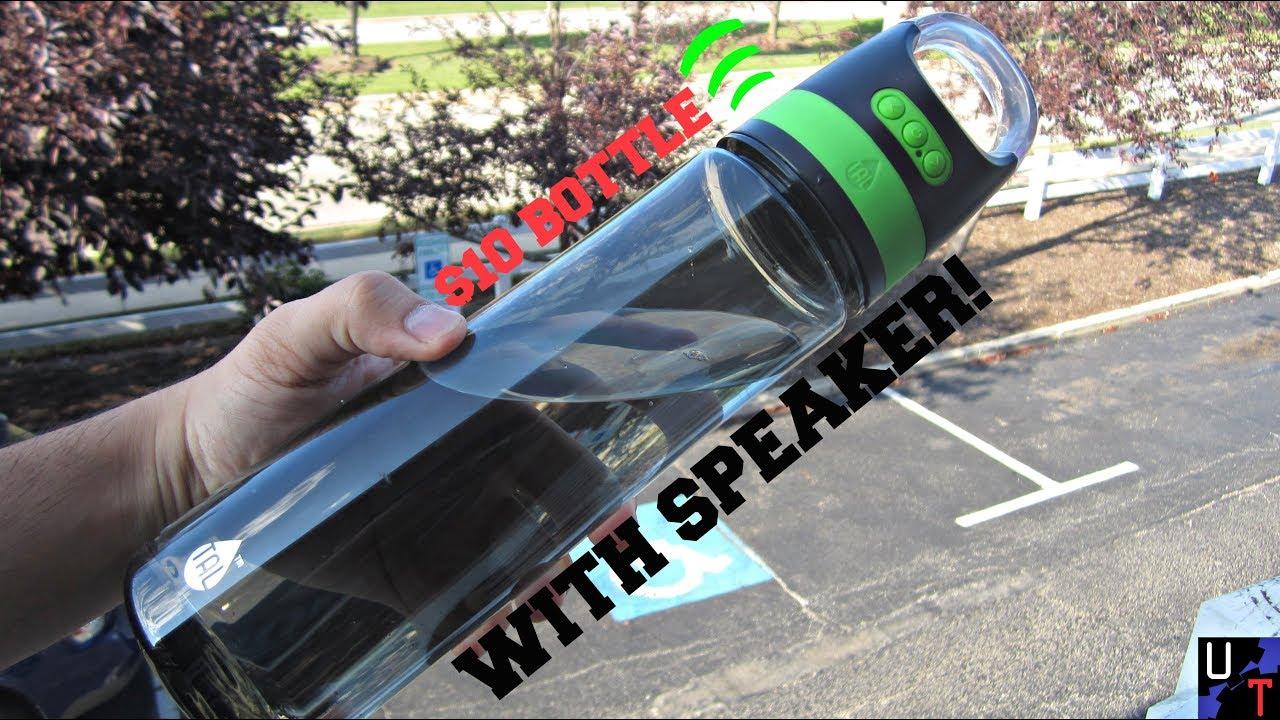 I Got This Bluetooth Speaker Bottle At Walmart For $7!