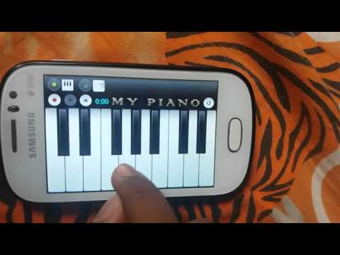 Mukkathe Penne  Mobile Piano  !