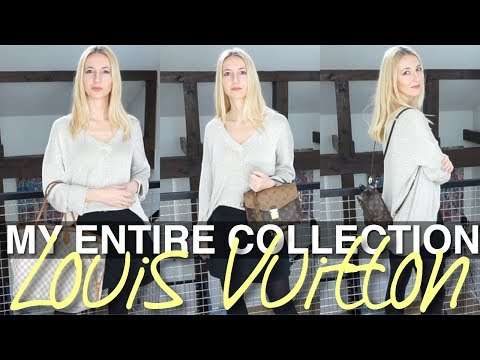 LOUIS VUITTON COLLECTION 2018 || MY ENTIRE LOUIS VUITTON COLLECTION 2018 || ANNA IN WARSAW