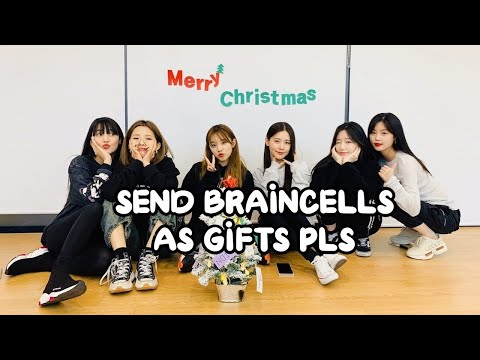 (G)I-DLE being Crackheads on Christmas VLIVE