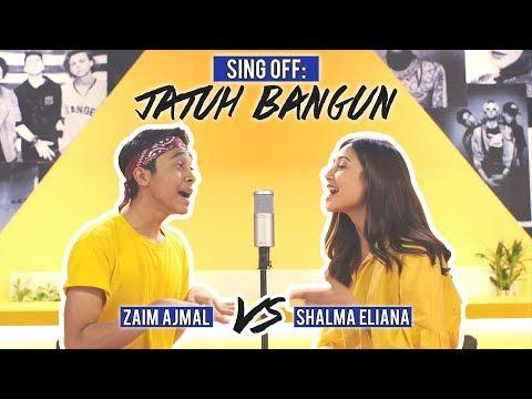 sing-off:-jatuh-bangun-(zaim-ajmal-vs.-shalma-eliana)
