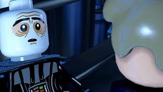 LEGO Star Wars: The Force Awakens - DARTH VADER DIES Cutscene Movie Cinematic