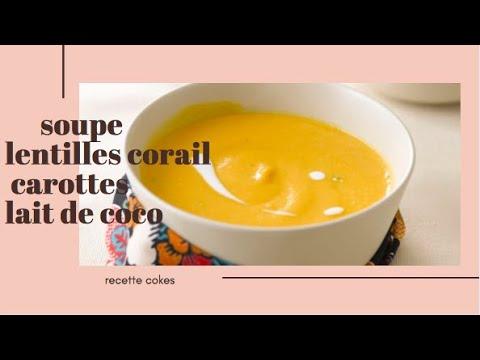 ⎨recette-cookeo⎬-soupe-lentilles-corail-au-lait-de-coco