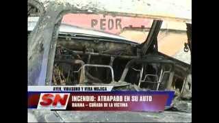 Incendio en Virasoro y Vera Mujica  Sospechan intencionalidad