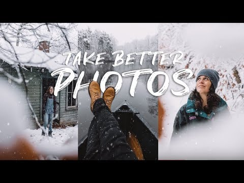 4 TIPS for Better PHOTOS in the SNOW! (Winter Wonderland)