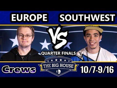 TBH6 SSBM Crews - Europe Vs. Southwest - Smash Melee Quarter Finals