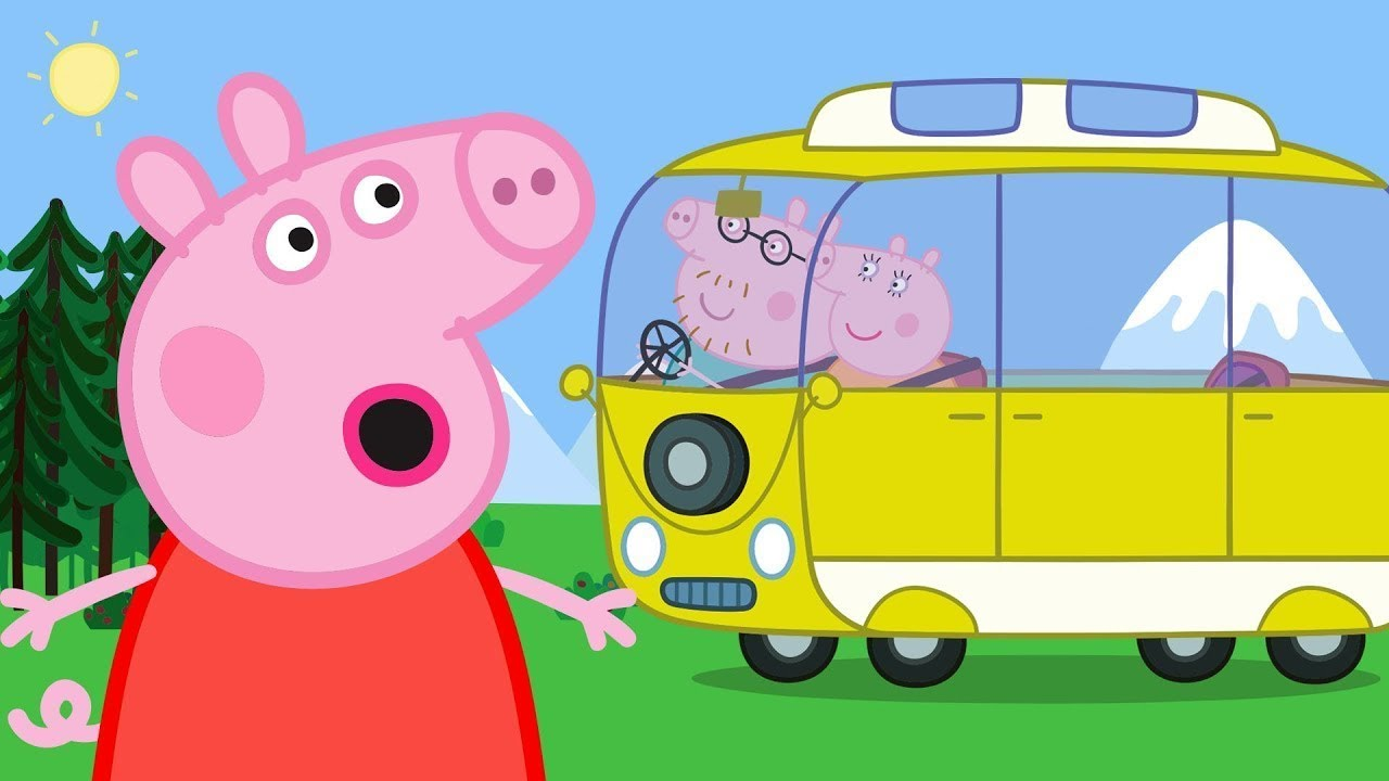 Peppa Pig Official Channel | Peppa Pig's Camper Van! Camping Holiday Special!