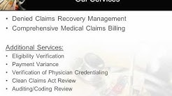 Denied Claims Recovery Management and Comprehensive Medical Billing for FQHCs