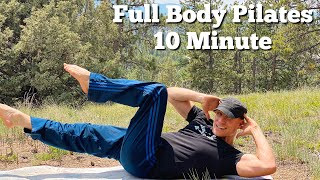10 min Full Body Pilates Core Workout (POWER PILATES) Sean Vigue Fitness