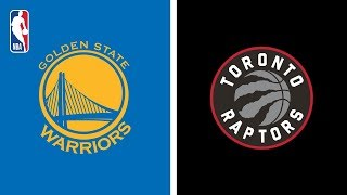 Golden State Warriors Defeat Toronto Raptors 109-104 | NBA Finals | Game 2