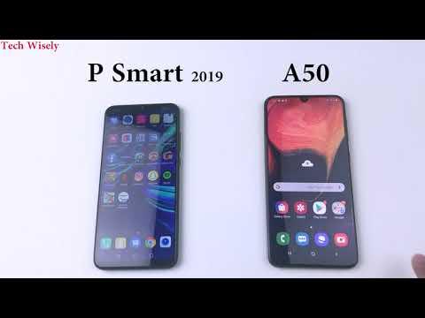 samsung-a50-vs-huawei-p-smart-2019-|-speed-test-comparison