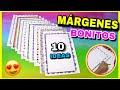 MÁRGENES para CUADERNOS | Bordes y Recuadros muy Bonitos #3 | NatyGloss