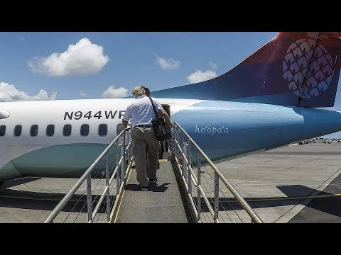 Island Air ATR 72 Kona to Honolulu